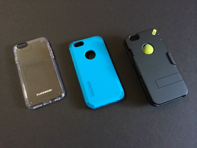 PureGear DualTek Extreme Shock Case, HIP Case+ and Slim Shell for iPhone 6