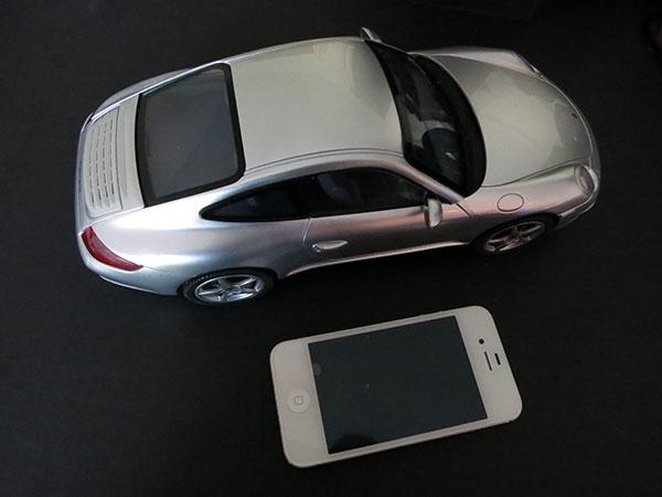 Porche 911 Carrera in scale