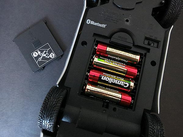 SilverLit Porche 911 Carrera Battery Compartment
