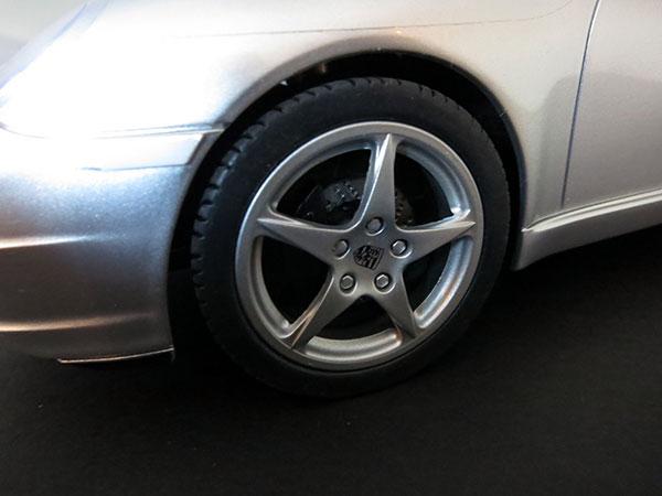 SilverLit Porche 911 Carrera Rear Tyre
