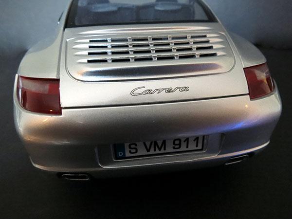 SilverLit Porche 911 Carrera Rear View