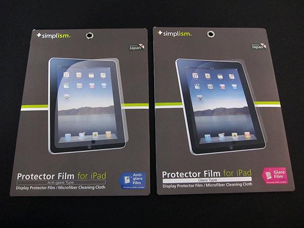 First Look: Simplism Protector Film for iPad (Glare/Anti-Glare)