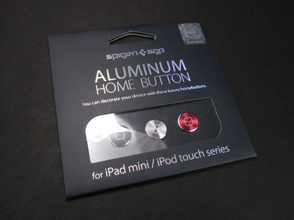 First Look: Spigen SGP Aluminum Home Button for iPad mini + iPod touch
