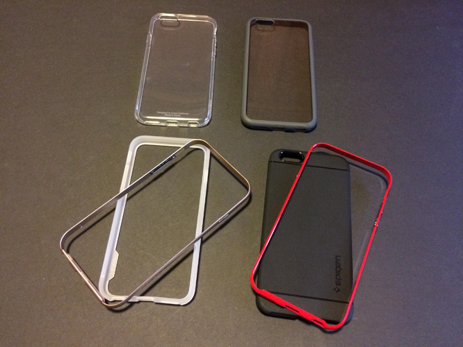 Spigen Capsule, Neo Hybrid / EX / Metal + Ultra Hybrid for iPhone 6