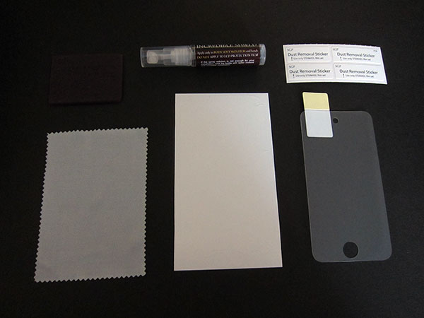 First Look: United SGP Steinheil + Incredible Shield Film for iPod touch 4G