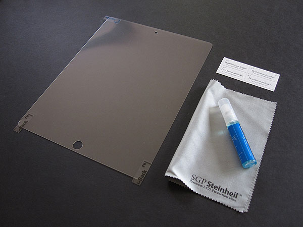 First Look: Spigen SGP Steinheil SQ Ultra Crystal Screen Protector for iPad (3rd-Gen)
