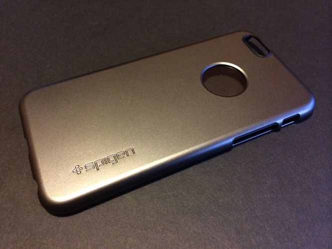 Spigen Aluminum Fit + Thin Fit / A for iPhone 6