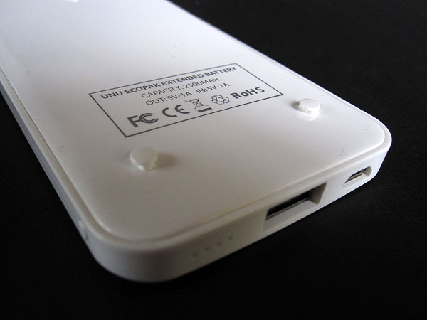 Review: uNu Ecopak Detachable Snap-On Case + Extended Battery for iPhone 5