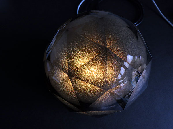 Yantouch Black Diamond Lamp