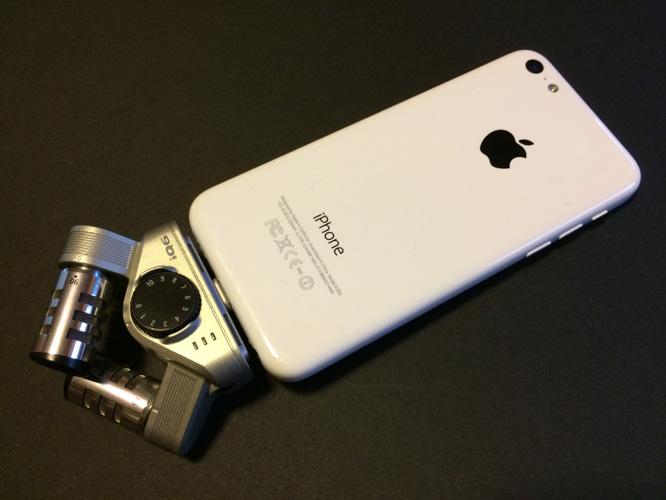 Zoom iQ6 XY Stereo Microphone for iPhone + iPad