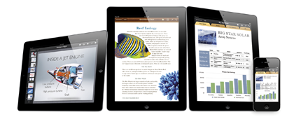 Apple updates iWork apps with iPhone, iPod touch support