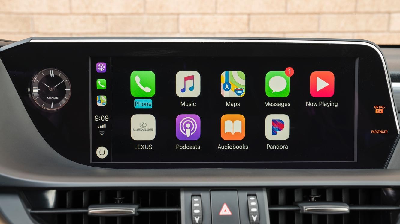 Lexus 2019 ES to add CarPlay support