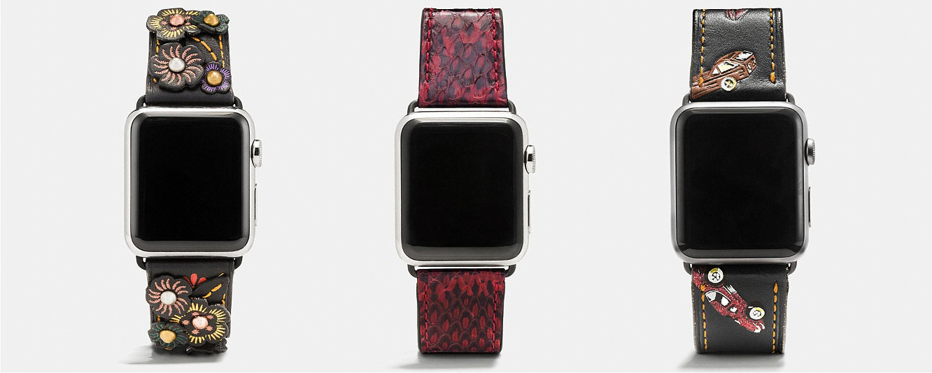 Coach releases new and updated Apple Watch bands 1