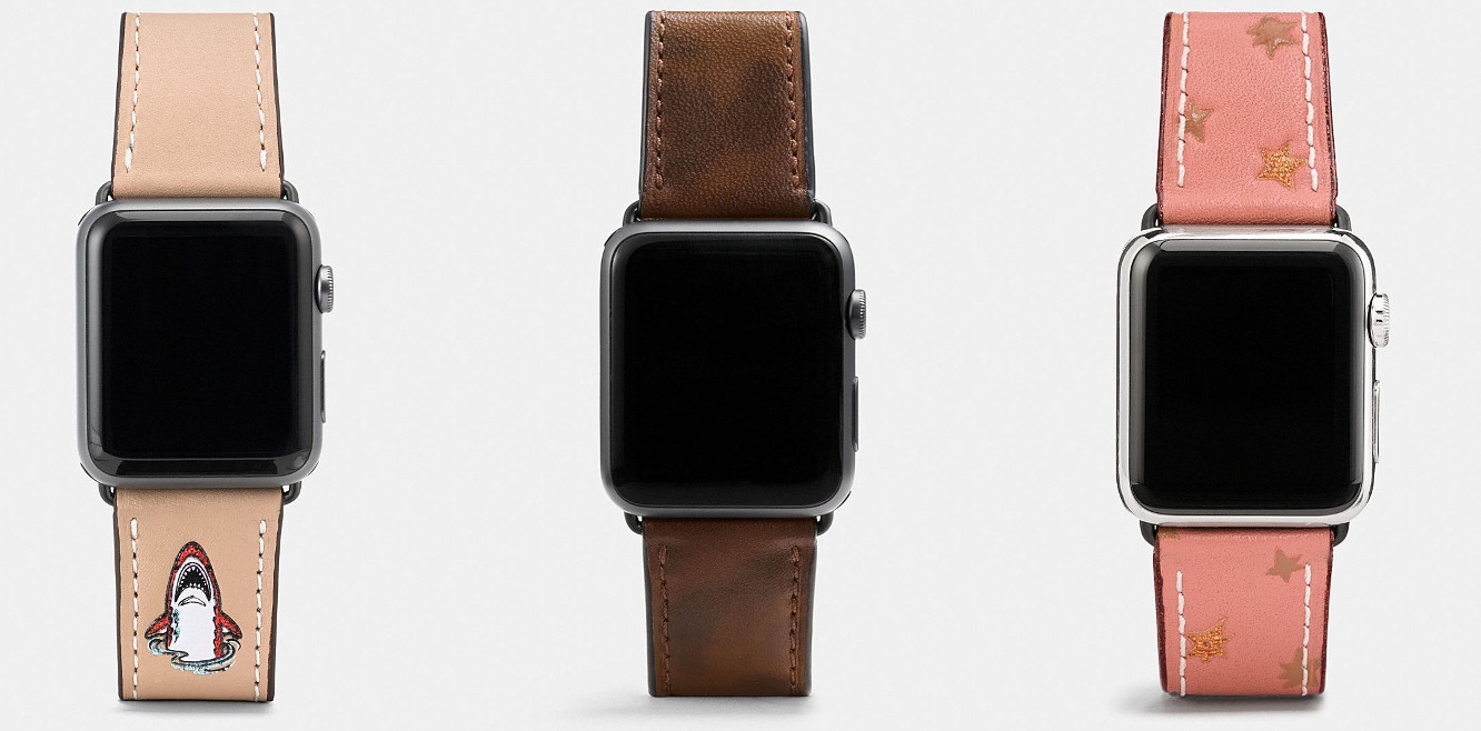 Coach releasing new Apple Watch bands for fall 1