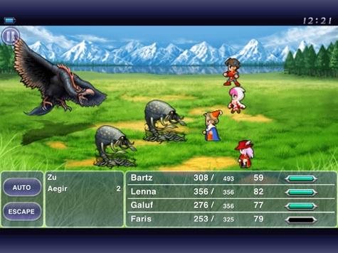 Apps: Creatorverse 1.2, Final Fantasy V, Square Wallet 2.5.1 + Vonage Mobile 2.0 1