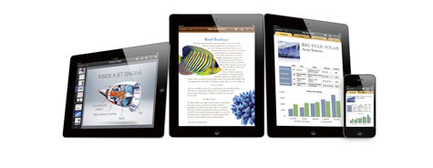 Apple updates iWork iOS apps for Mountain Lion 1