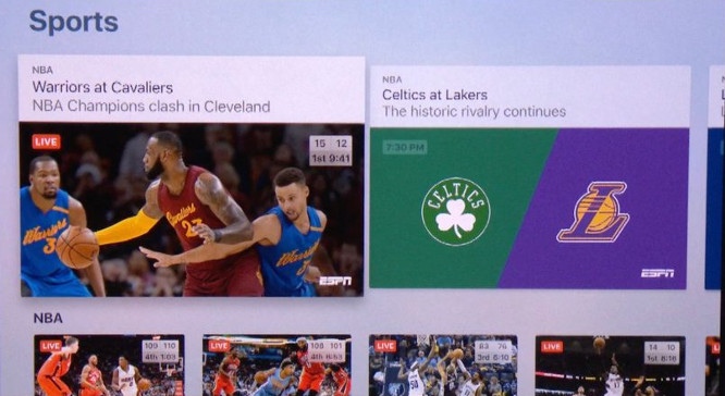 Apple reportedly integrating streaming sports into TV app next month 1
