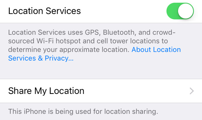 Apple pulling apps that share location data with third