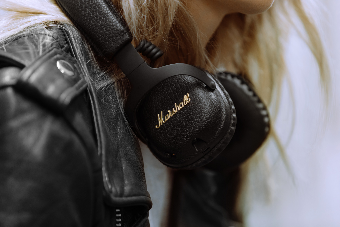 Marshall releases company's first active noise cancelling headphones