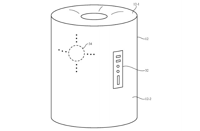 Apple patents construction method for cylindrical device that could be Siri speaker 1