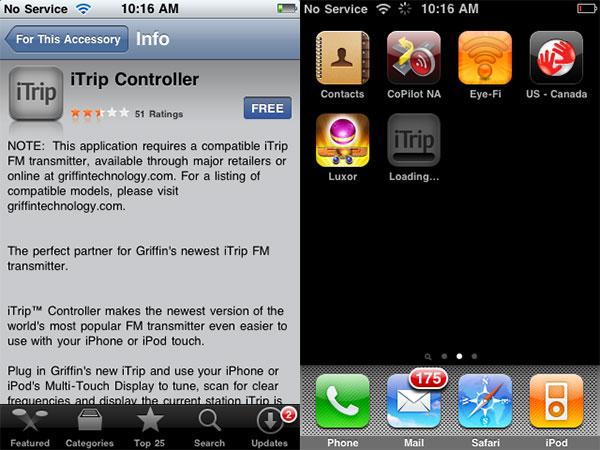 iPhone accessories gain app download prompt