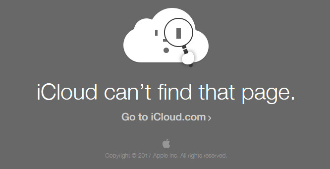 Apple's iCloud Activation Lock Page Gets Taken Down With No Explanation