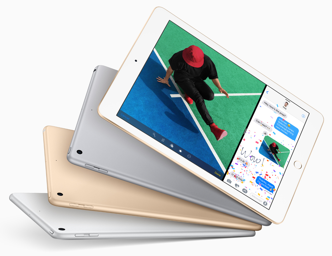"Apple unveils new upgraded entry-level 9.7"" iPad, replacing iPad Air 2"