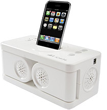 Aft Intros Icarta Ipod Dock And Bath Tissue Holder Ilounge News - Icarta-ipod-dock-and-toilet-roll-dispenser