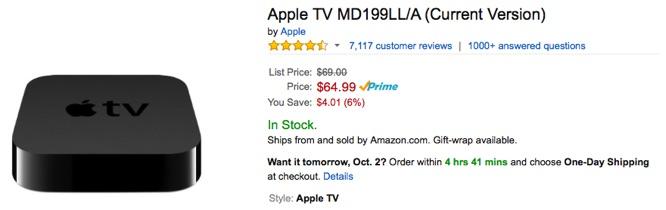 Amazon to ban sale of Apple TV 1