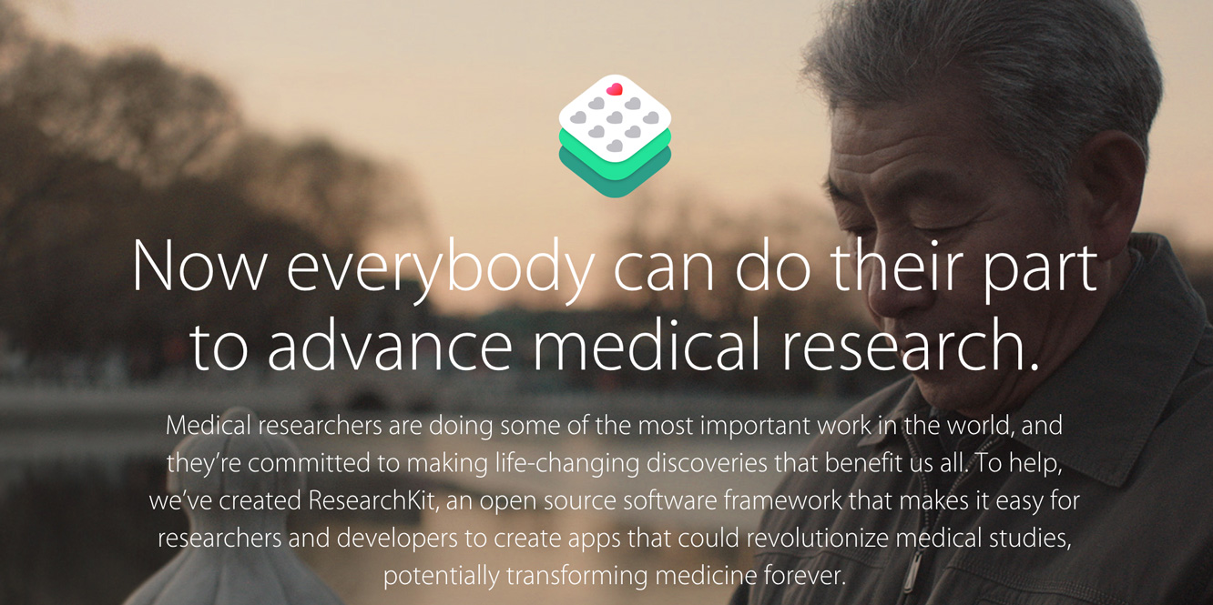 Apple releases ResearchKit to medical researchers