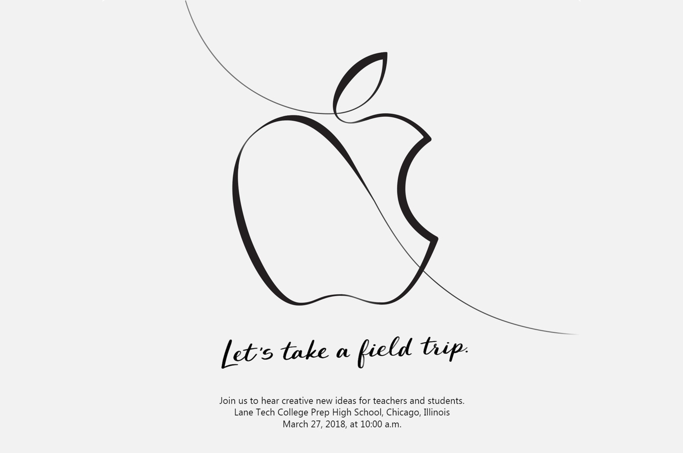Apple announces education-focused event for March 27