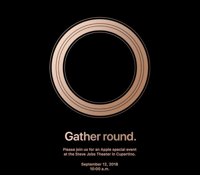 Apple sends out media invites for Sept. 12 event at Apple Park