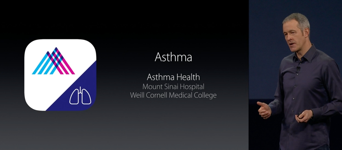 Asthma study proves ResearchKit data is accurate compared to other studies 1