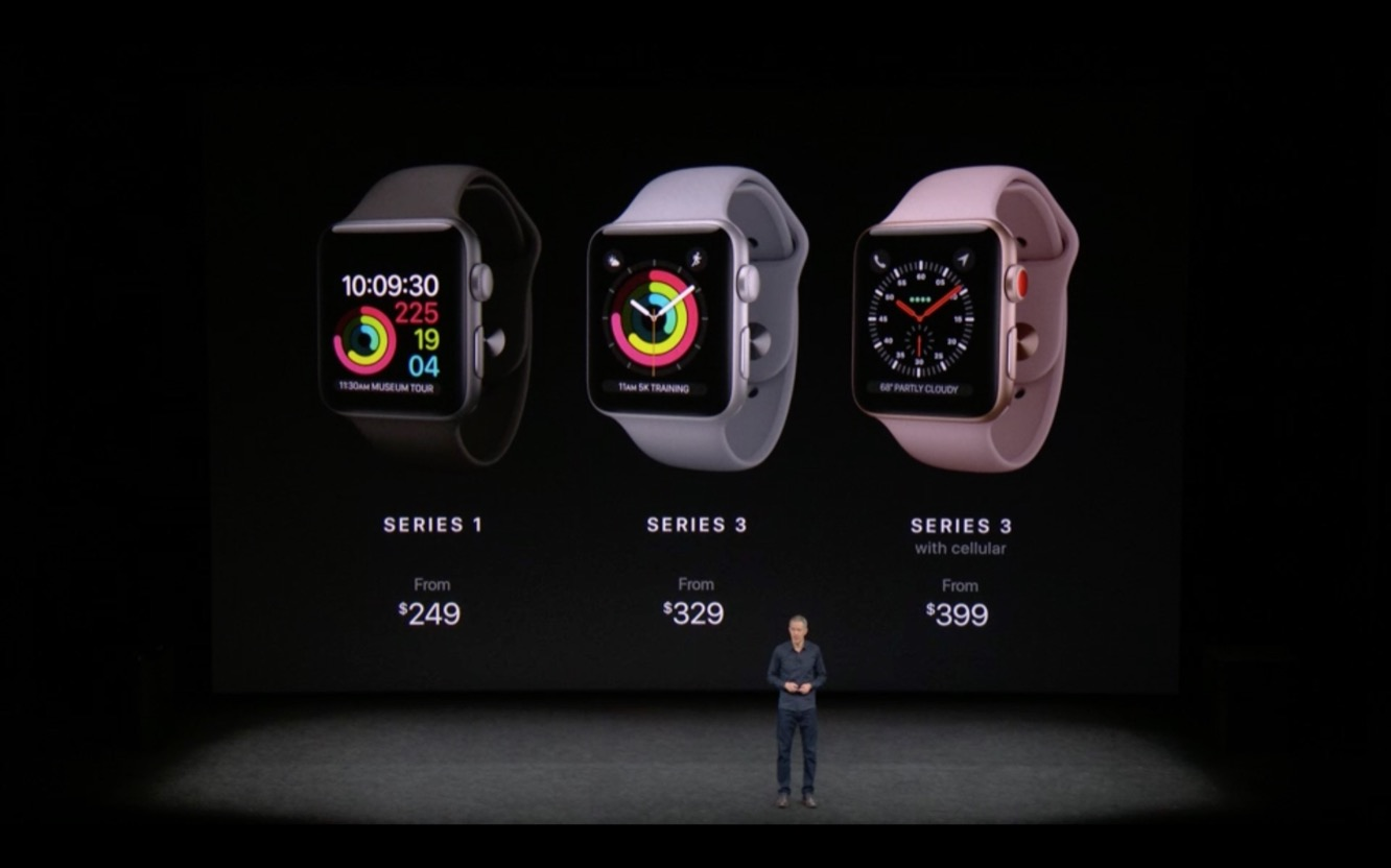 Apple releases Apple Watch Series 3 with Cellular Capabilities 2
