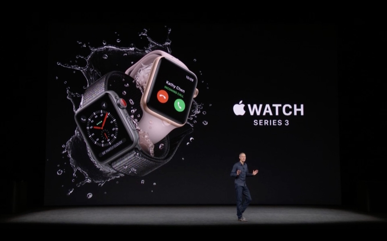 Apple releases Apple Watch Series 3 with Cellular Capabilities 1