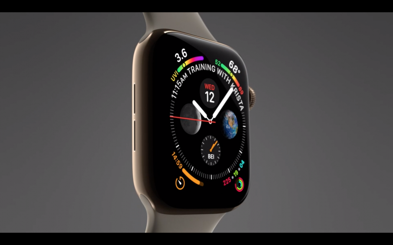 Here is what's new about Apple Watch Series 4