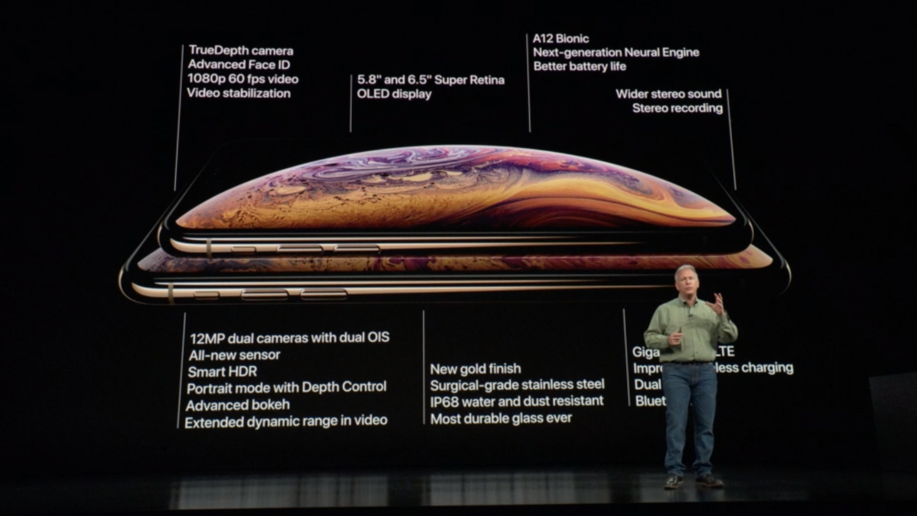 Apple unveils iPhone XS and iPhone XS Max