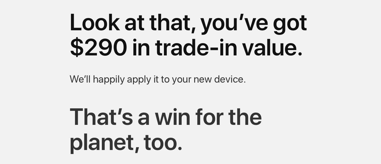 Apple GiveBack program streamlines online trade-in process