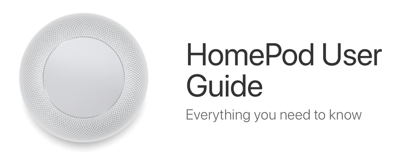 With HomePod now on sale, Apple publishes user manual and new iOS Tips app entries
