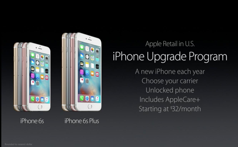 Apple announces iPhone Upgrade Program