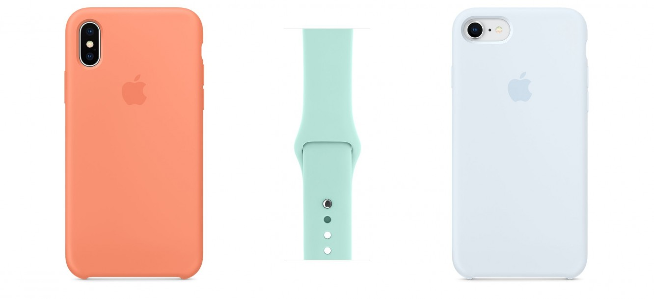 Apple unveils new silicone iPhone case colors, Apple Watch bands 1