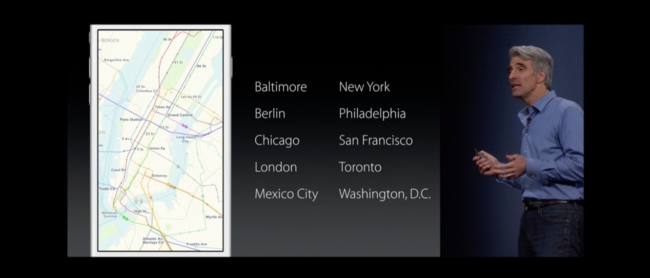 iOS 9 Transit goes beyond core cities 1
