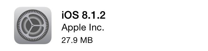Apple releases iOS 8.1.2, fixing missing ringtones issue