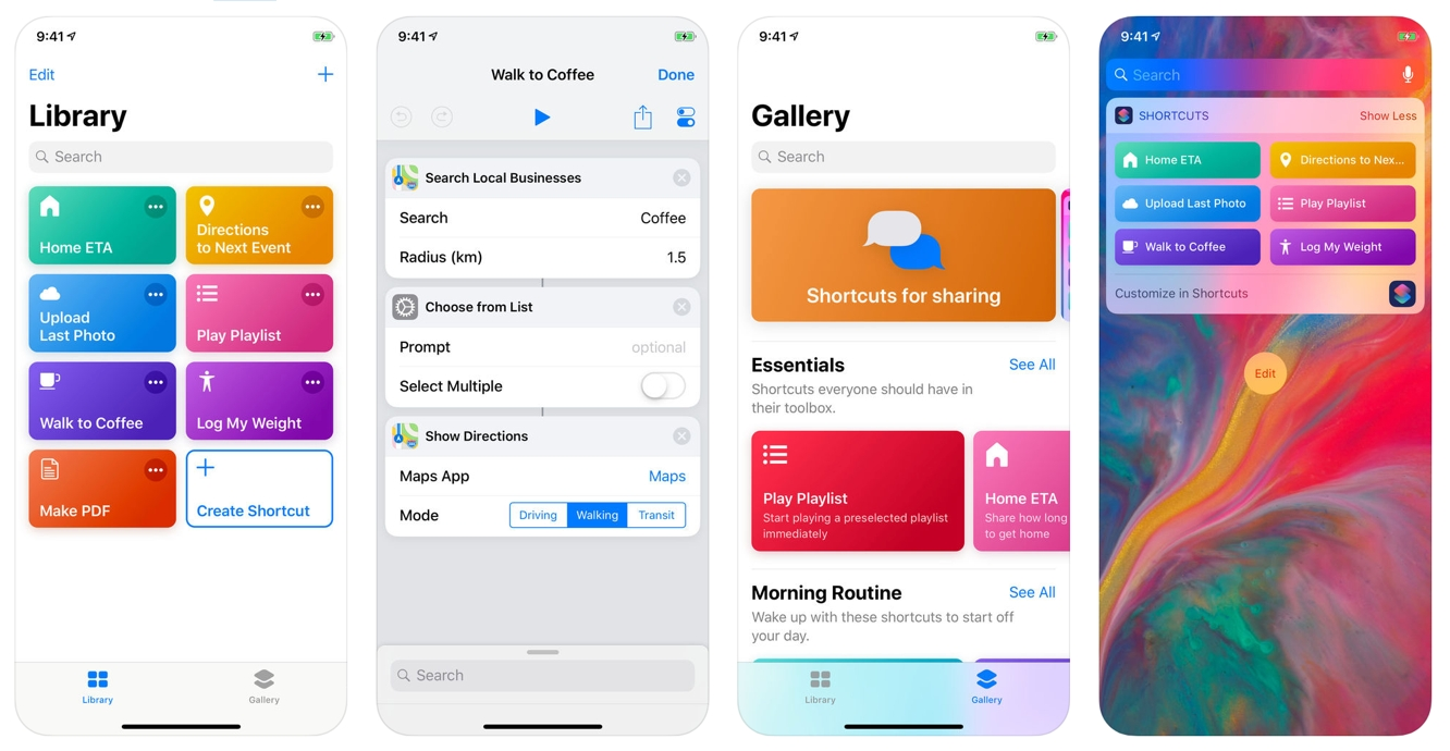 Apple's Shortcuts app now available on the App Store, replacing Workflow