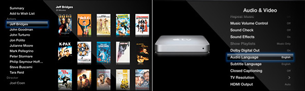 Apple releases Apple TV Software 3 0 with new interface