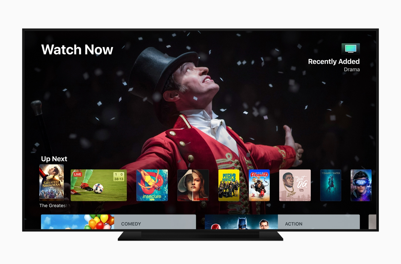 Apple releases tvOS 12 for Apple TV