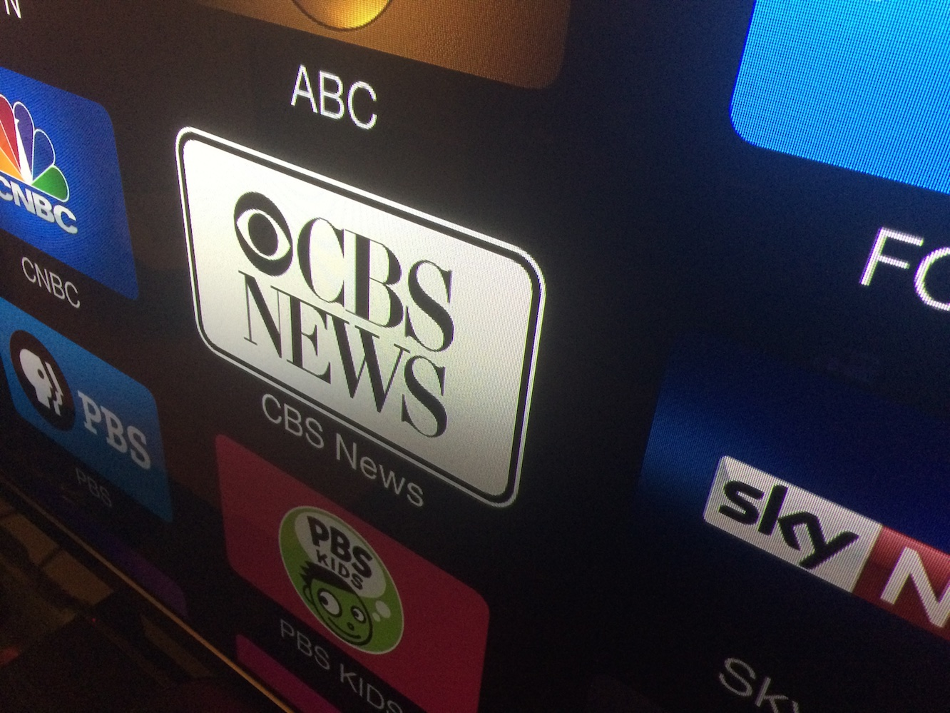 Apple TV adds CBS News channel