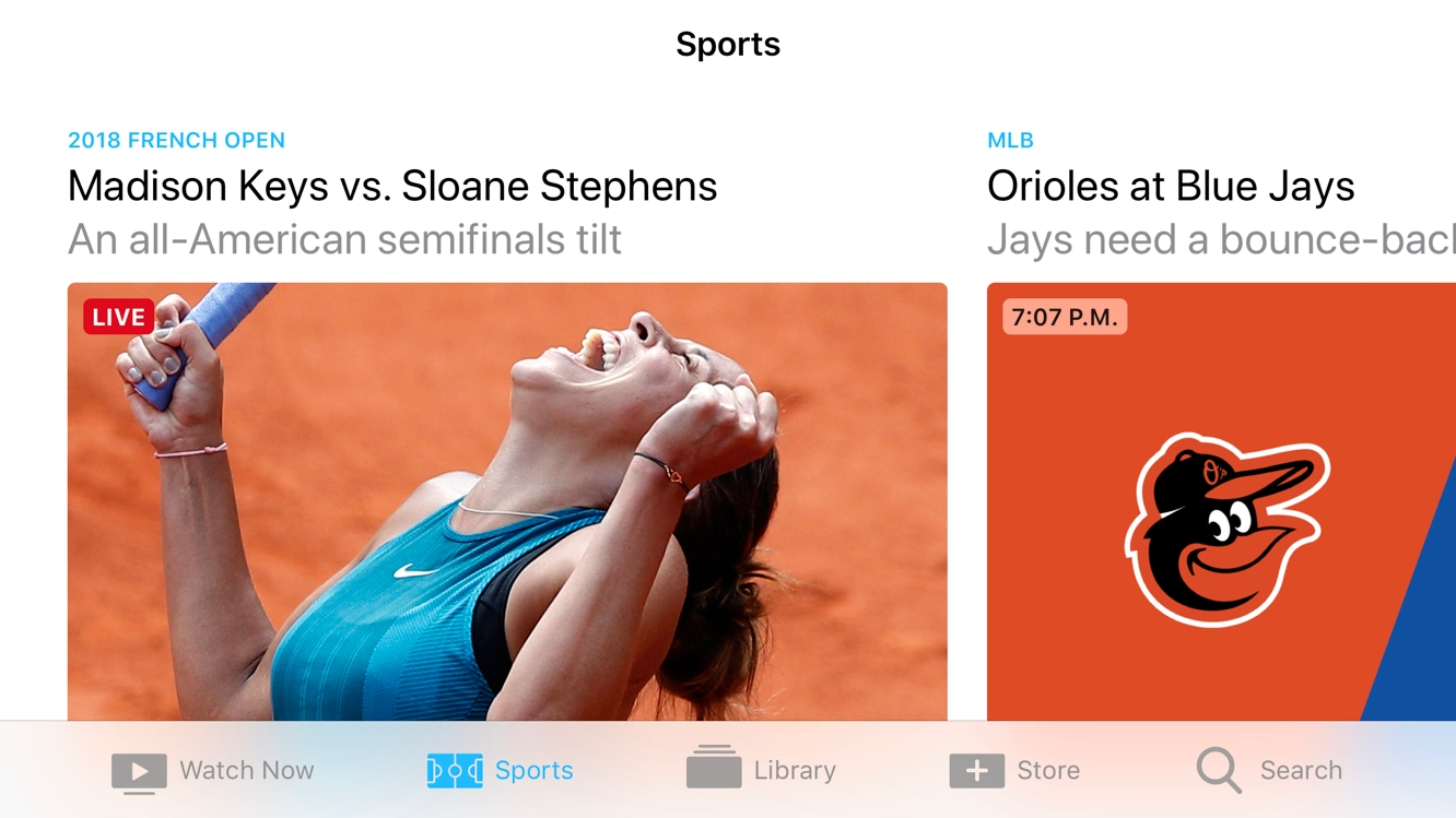Live sports and news comes to Apple TV app in Canada 1