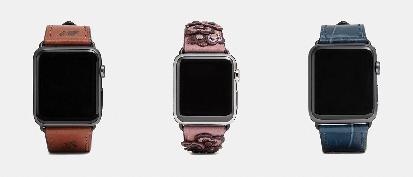 Coach releases new summer lineup of Apple Watch bands 1