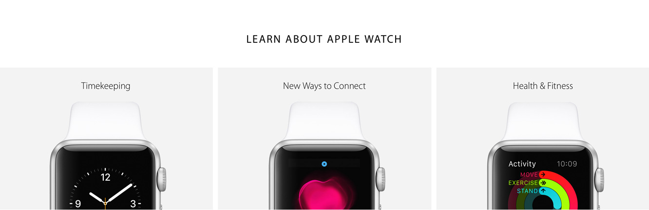 Apple highlights more Apple Watch info 1